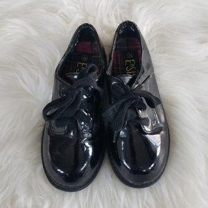 Lower East Side   Boys Shiny Dress Shoes Laces 9.5